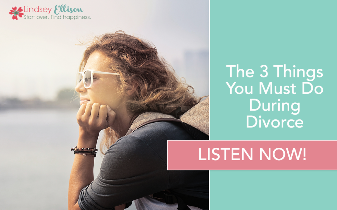 Episode #17: The 3 Things You Must Do During Divorce