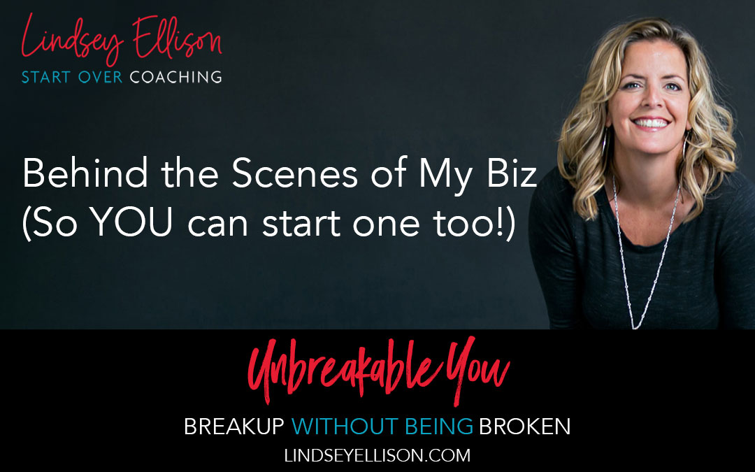 Behind the Scenes of My Biz (So YOU can start one too!)